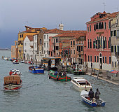 Cannaregio Canal in Venice, the city of water