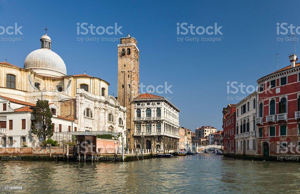 Cannaregio district of Venice Italy royalty-free stock photo