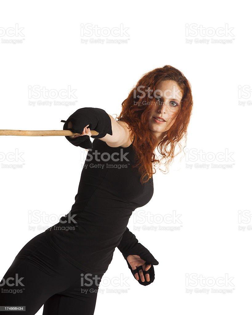 Canne de combat royalty-free stock photo