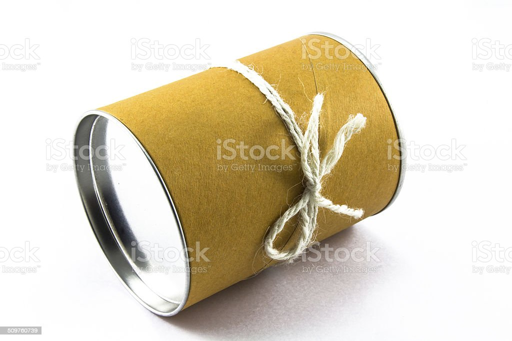 canned isolated stock photo