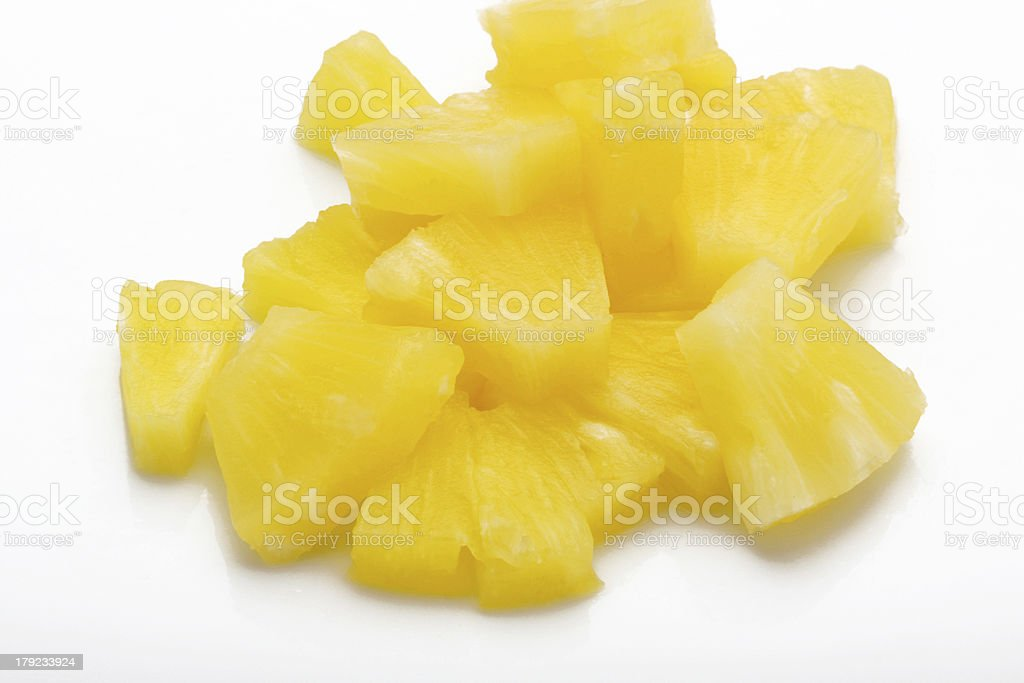 canned pineapple royalty-free stock photo
