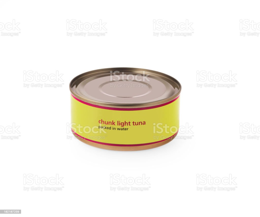 Canned Tuna stock photo