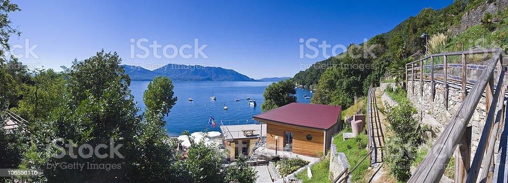Cannero Riviera stock photo