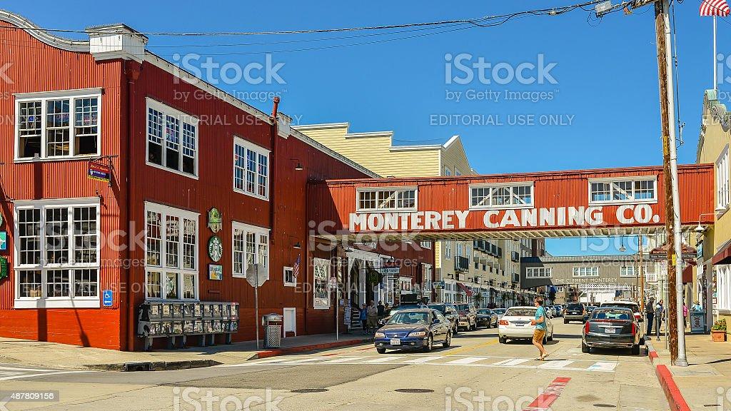 Cannery Row, Monterey, CA stock photo