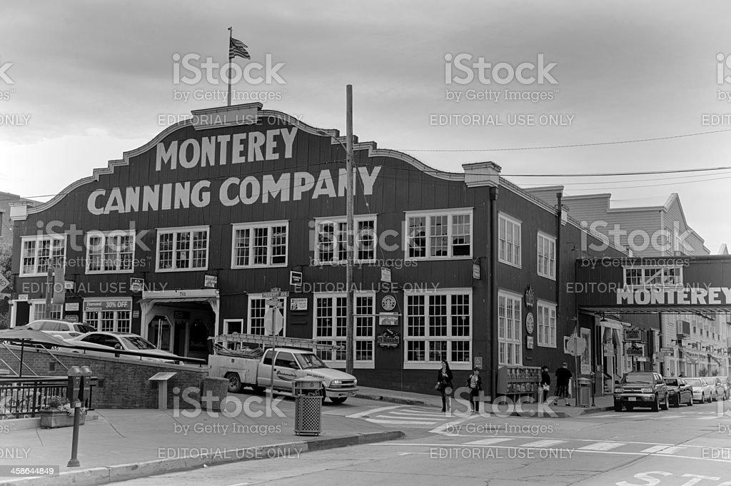 Cannery Row, Monterey stock photo