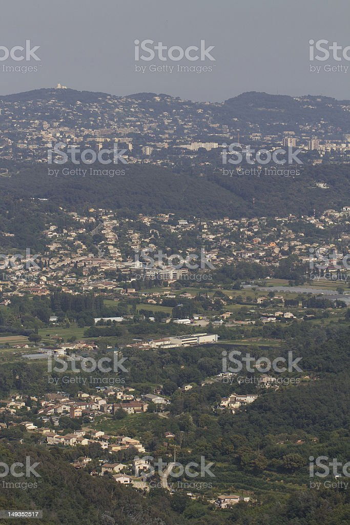 Cannes Country Side royalty-free stock photo