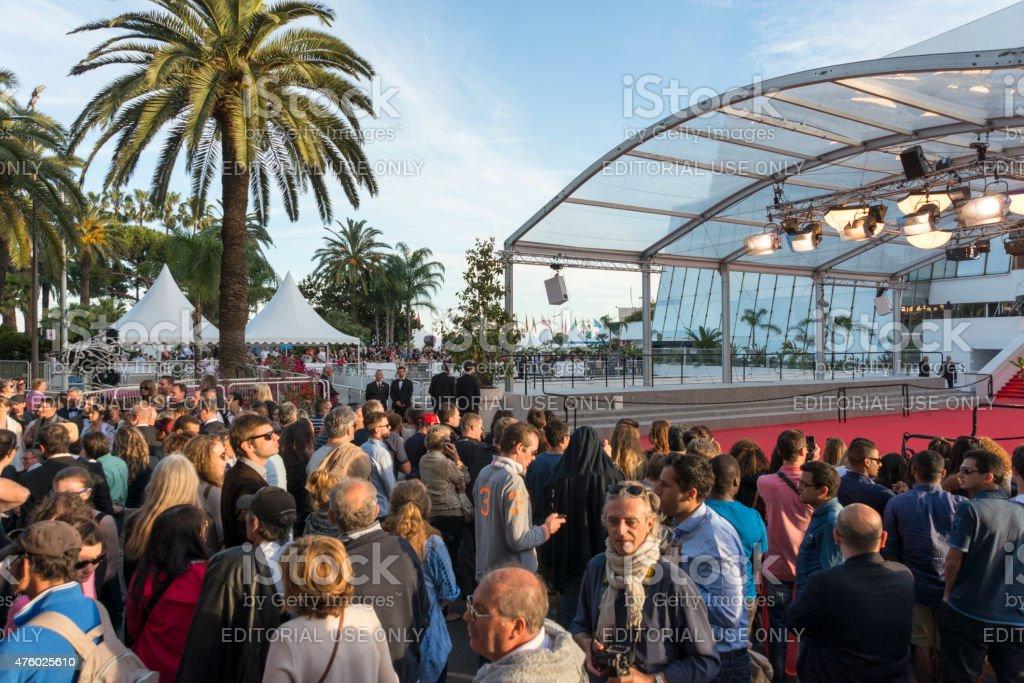 Cannes Film Festival stock photo