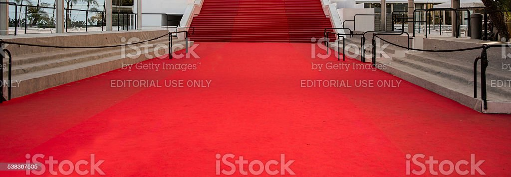 Cannes Film Festival Red Carpet stock photo