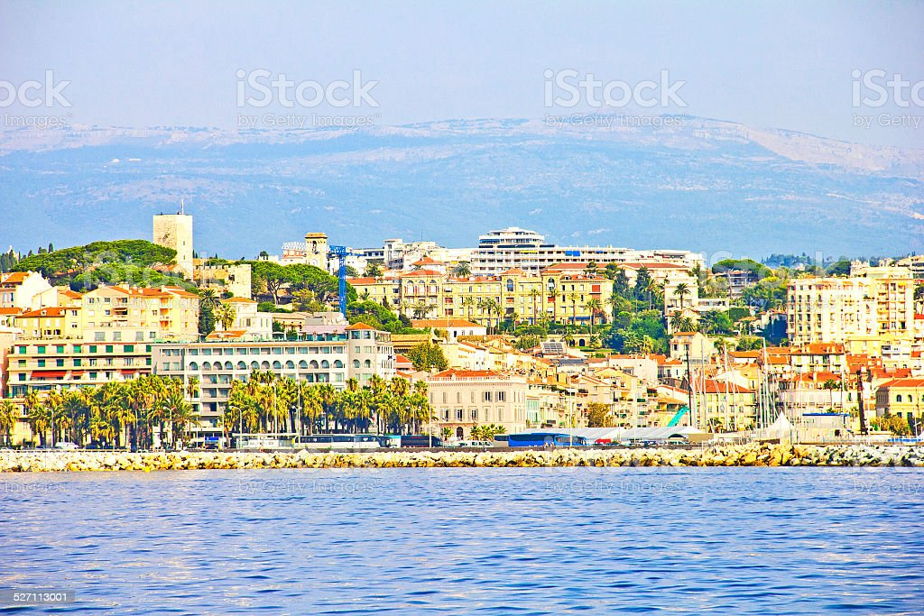 Cannes, France stock photo