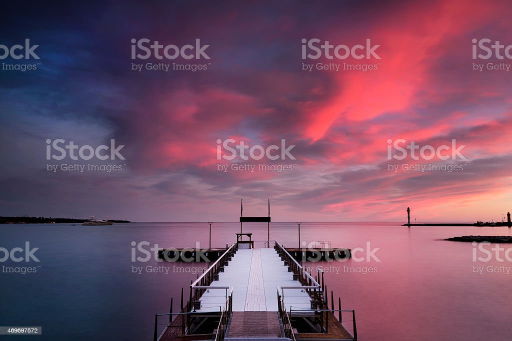Cannes, French Riviera, France. stock photo