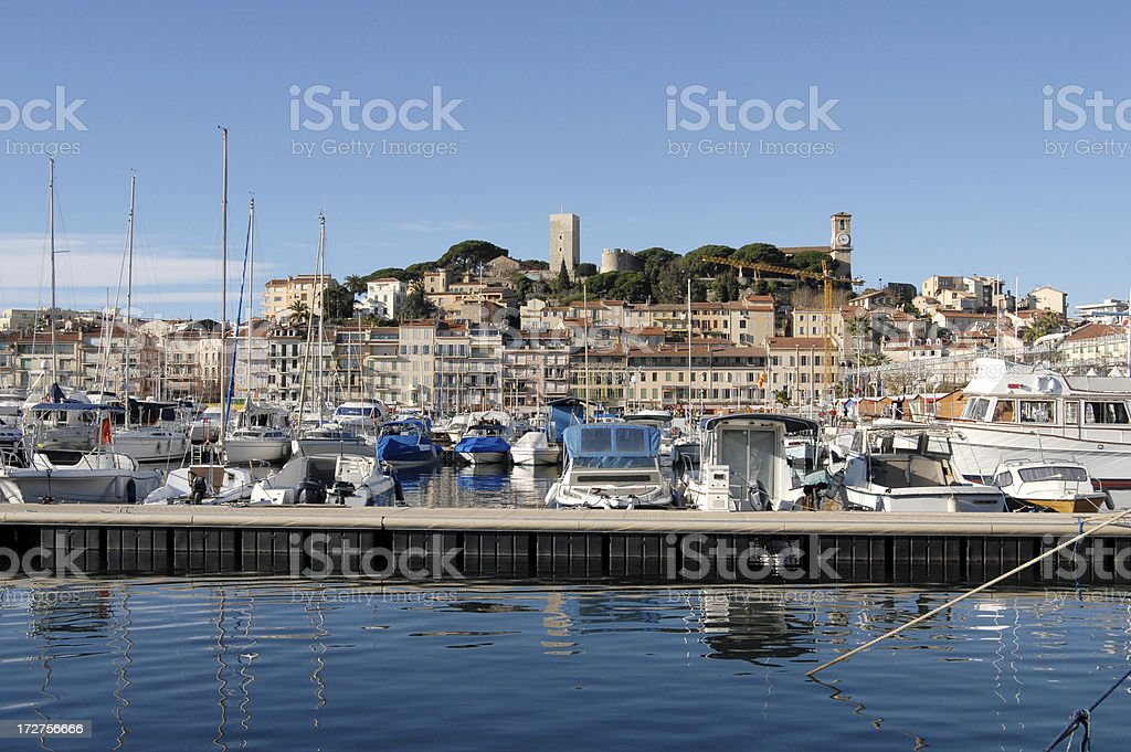 Cannes, French Riviera royalty-free stock photo
