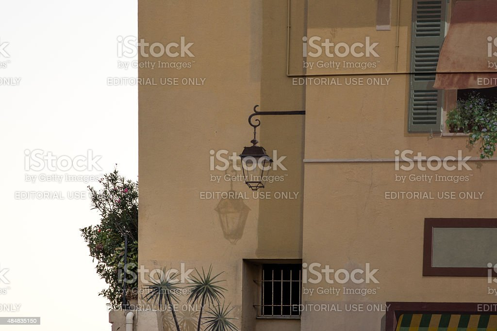 Cannes, i murales stock photo