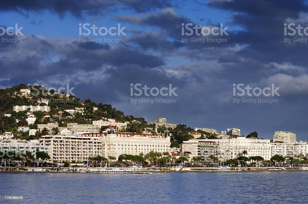 Cannes stock photo