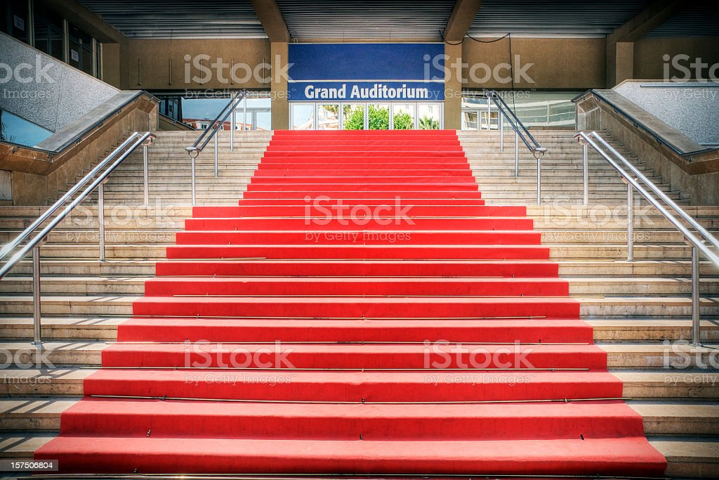 Cannes Red Carpet stock photo