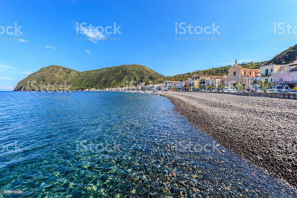 Canneto - Lipari, Aeolian Islands, Sicily stock photo