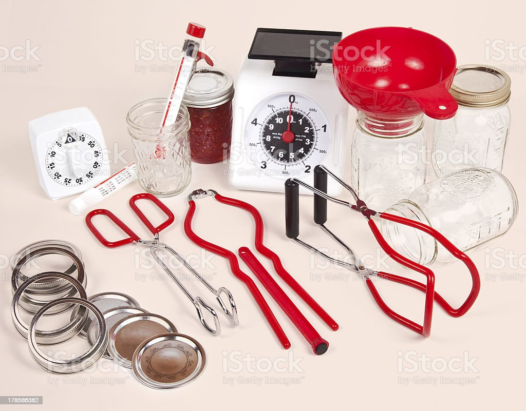 Canning Equipment stock photo