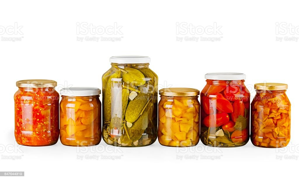Canning stock photo
