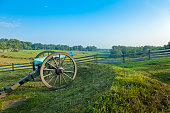Cannon at the Gettysburg National Military Park