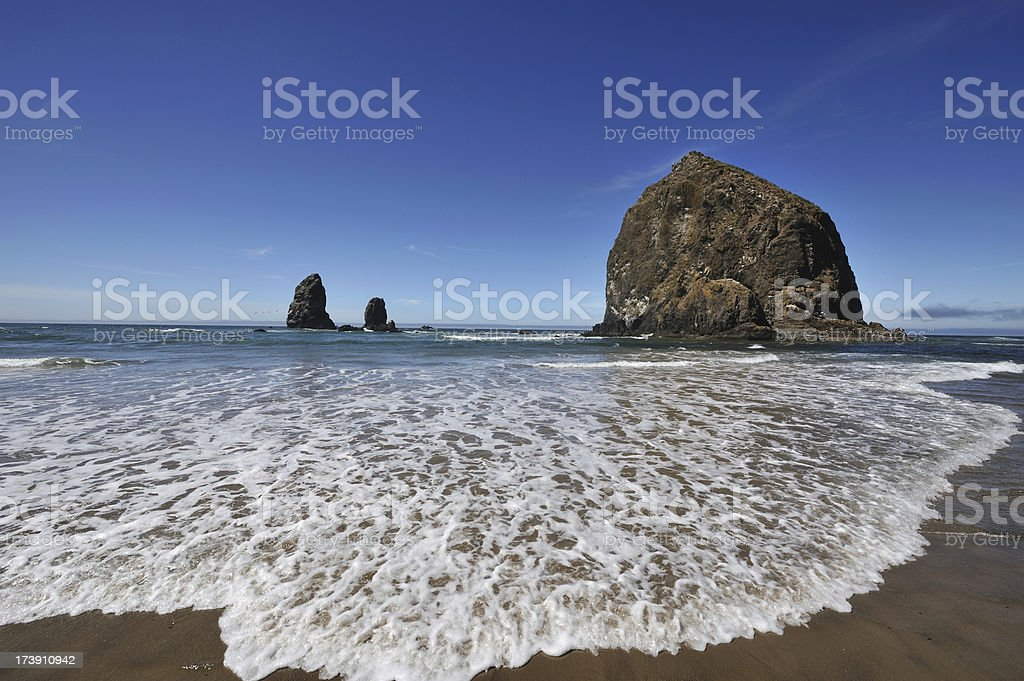 Cannon Beach - Haystack Rock royalty-free stock photo