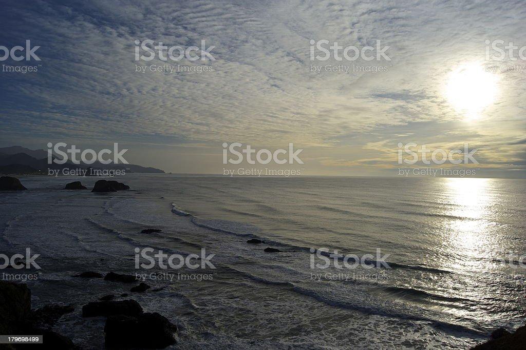 Cannon Beach Light stock photo
