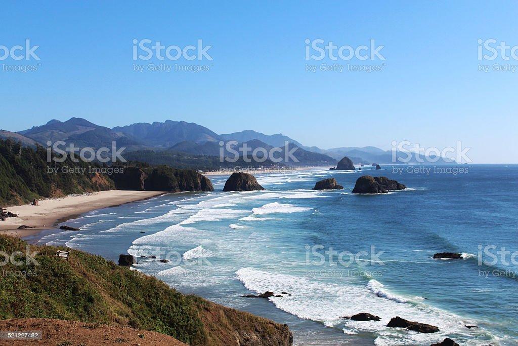 Cannon Beach stock photo