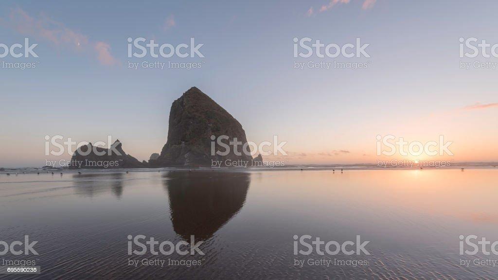 Cannon Beach Sunrise stock photo