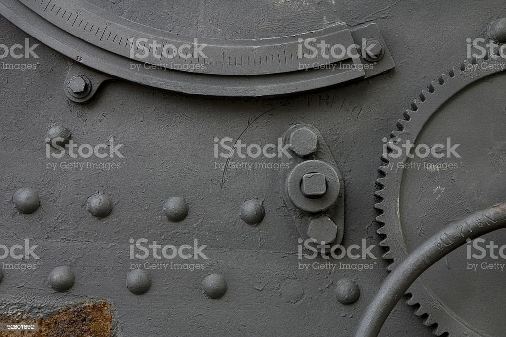 Cannon detail royalty-free stock photo