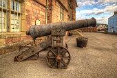 Cannon monmouth castle