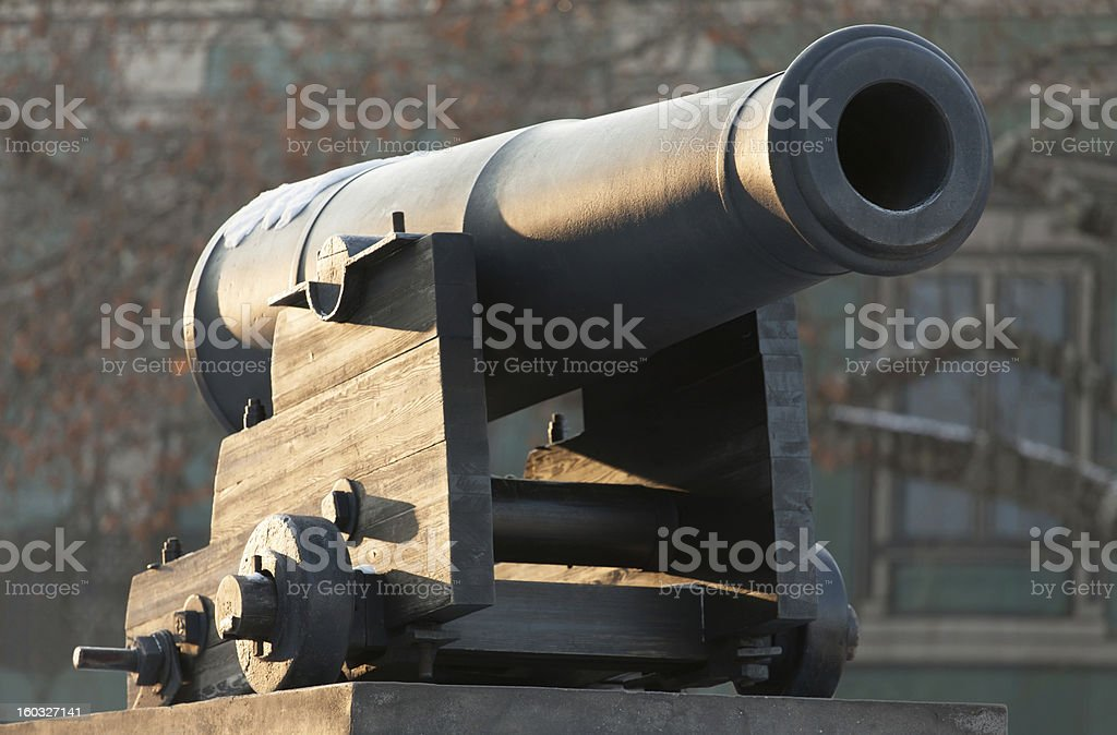 cannon old nautical royalty-free stock photo
