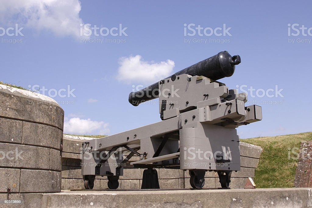 cannon royalty-free stock photo