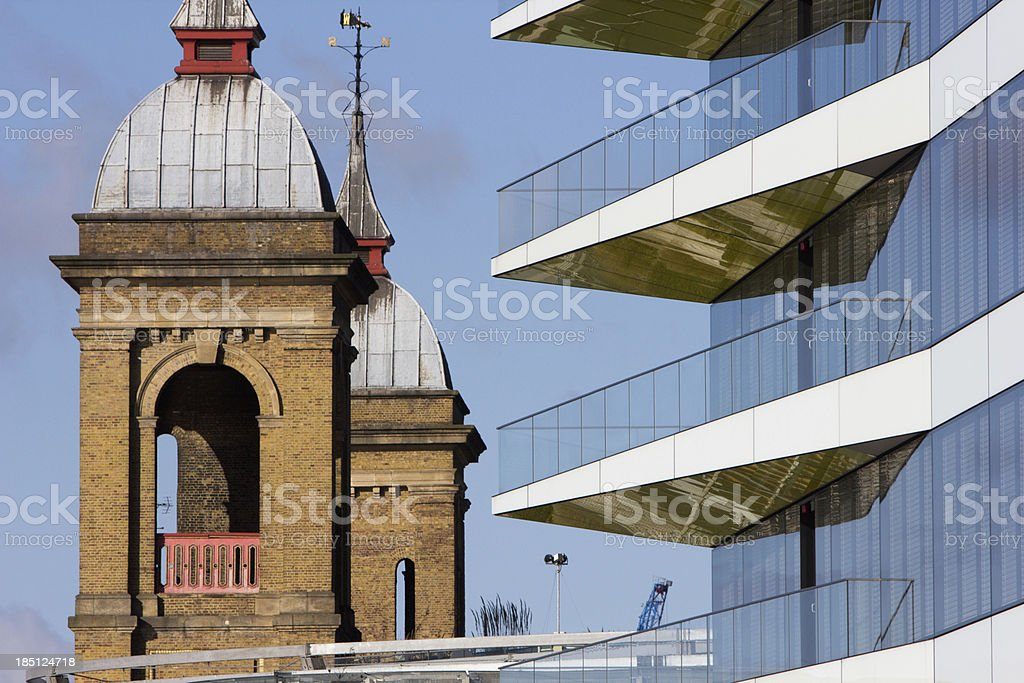 Cannon Street in London, England royalty-free stock photo