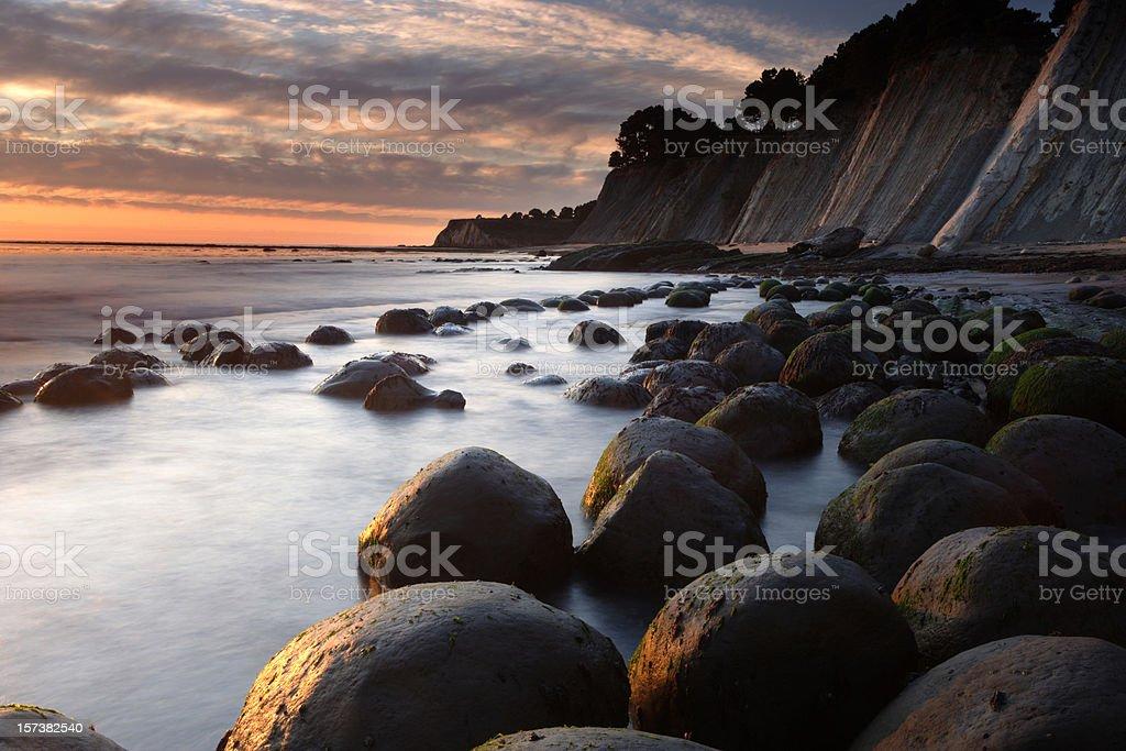 Cannonball Beach royalty-free stock photo