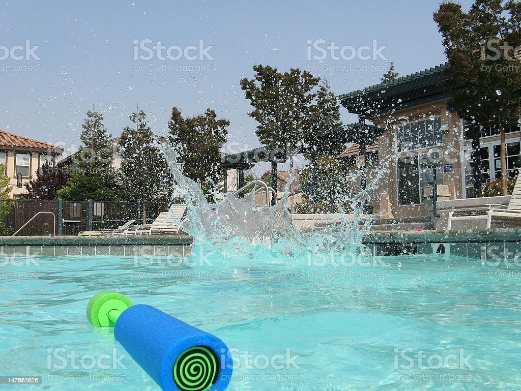 Cannonball Finish royalty-free stock photo