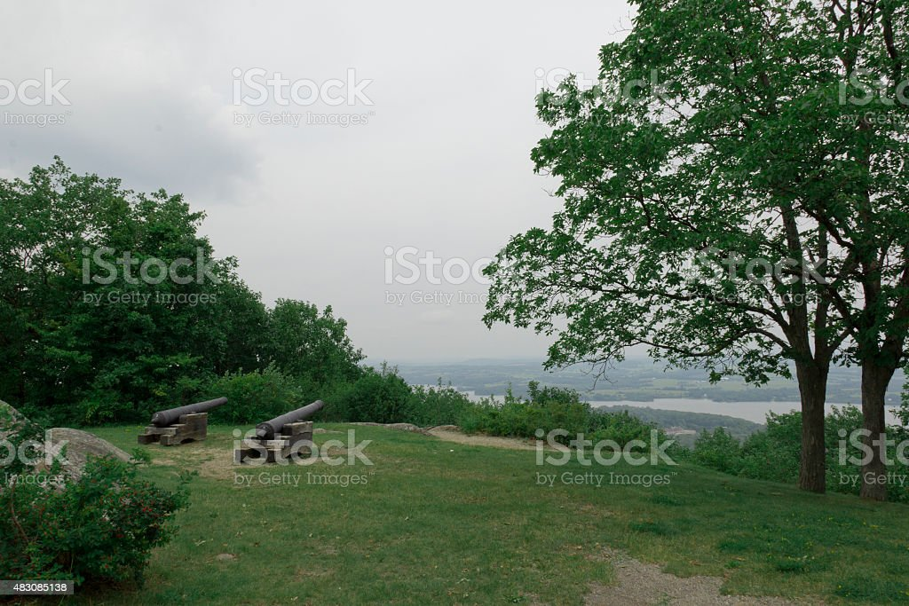 Cannons Hilltop stock photo