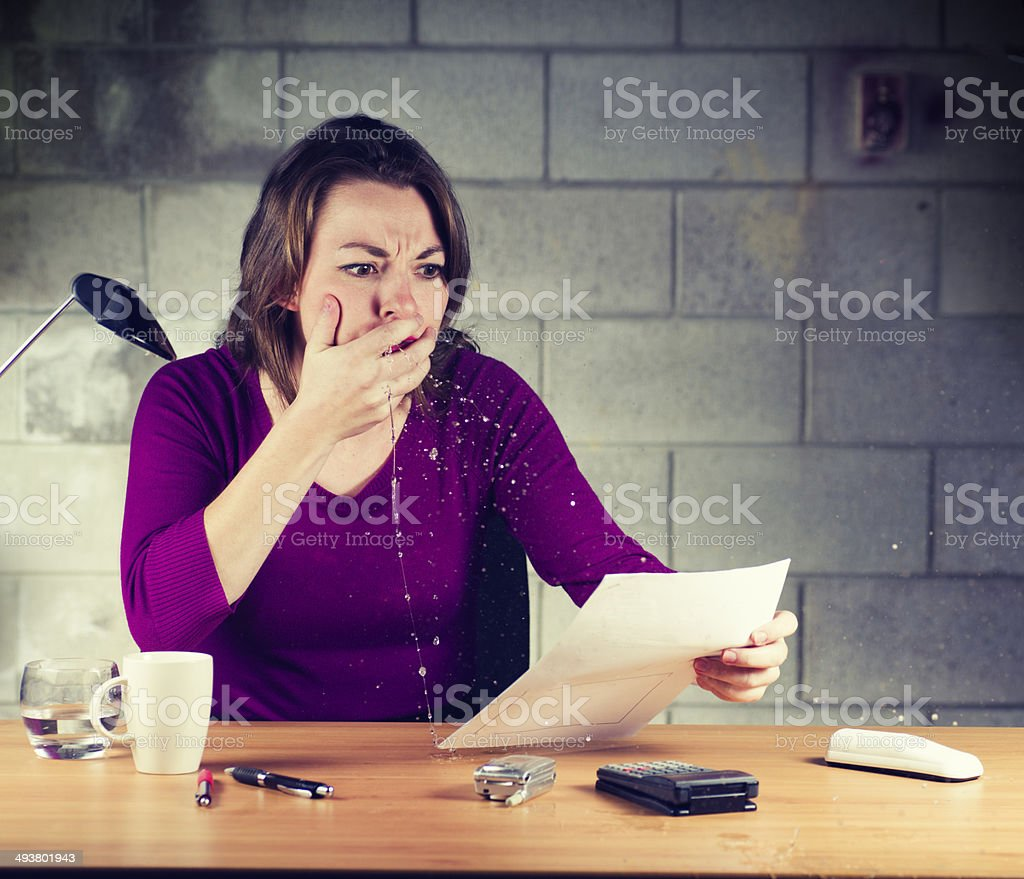 I cannot believe it stock photo