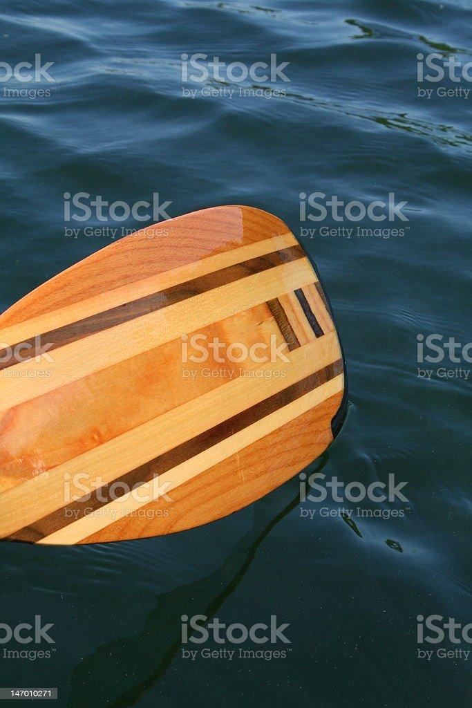 Canoe and Kayak Paddle royalty-free stock photo