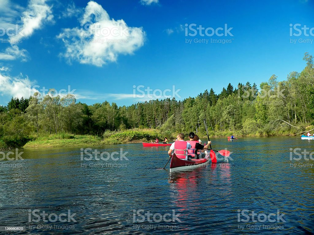 Canoe royalty-free stock photo