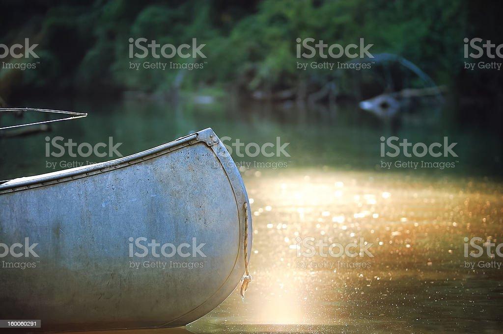 Canoë photo libre de droits