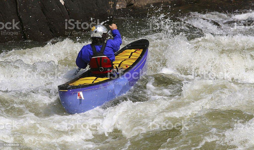 Canoe Ride royalty-free stock photo