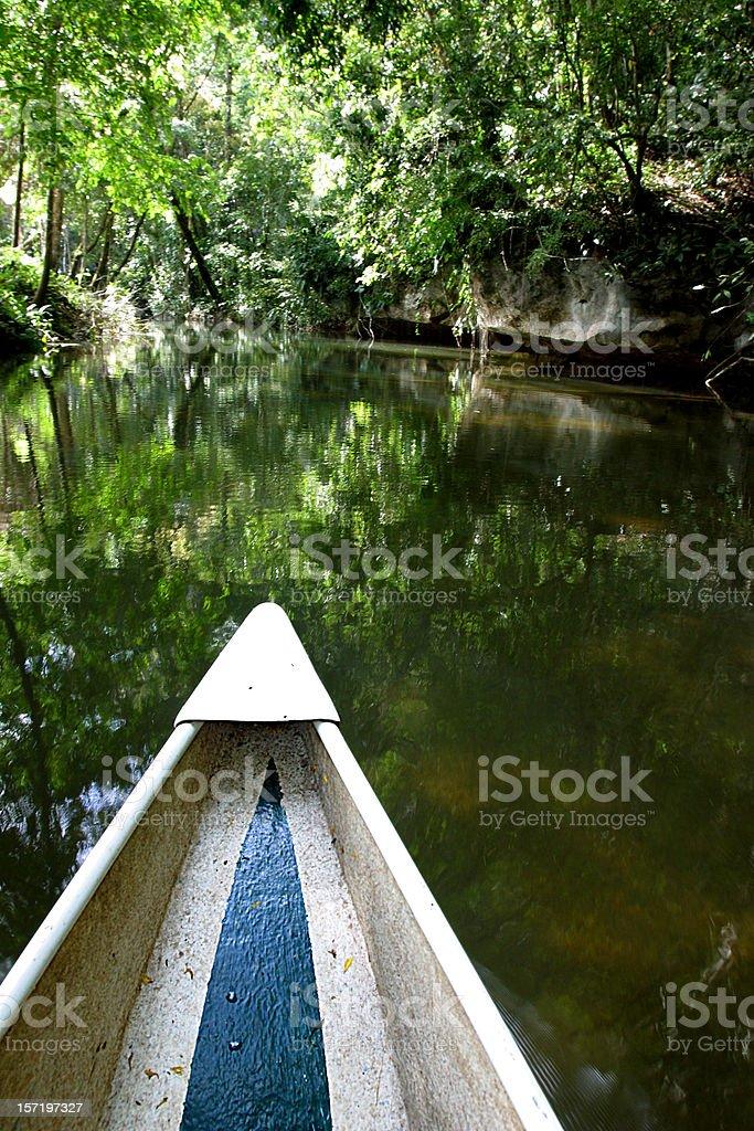 Canoe Trip stock photo
