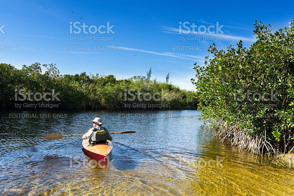 Canoe Trip stock photo