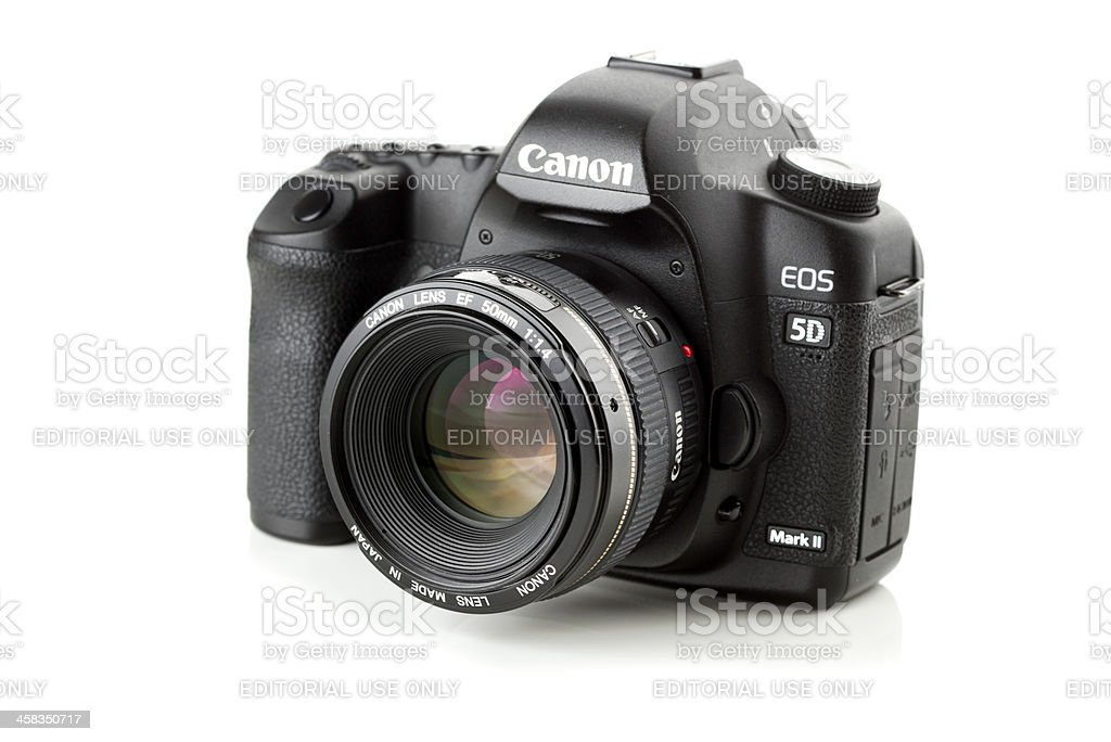 Canon 5D Mark II stock photo