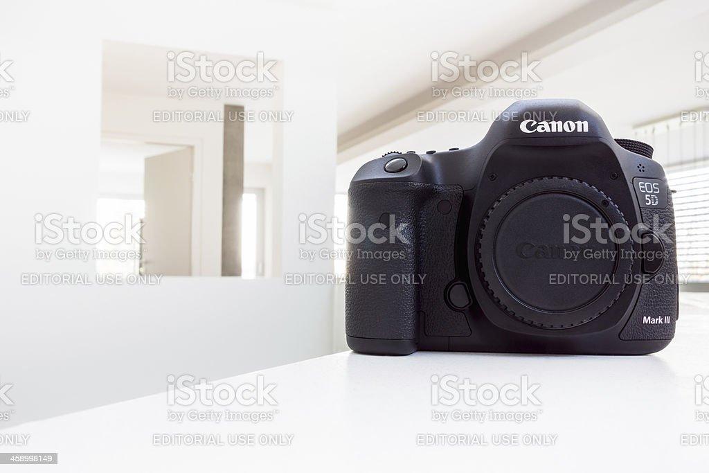 Canon 5D Mark III DSLR stock photo