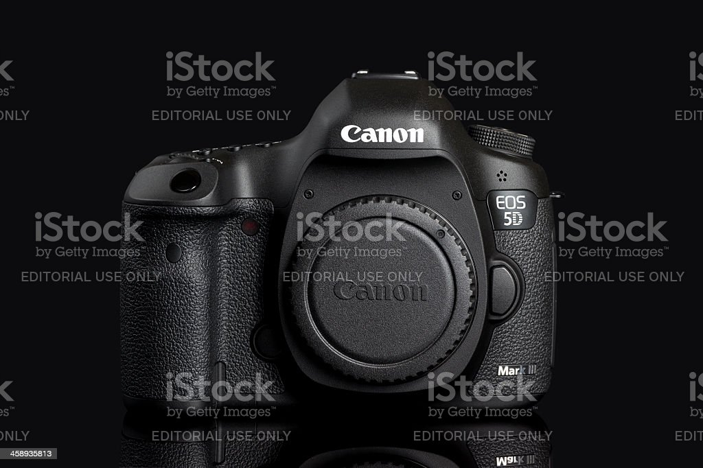 Canon EOS 5D Mark III royalty-free stock photo