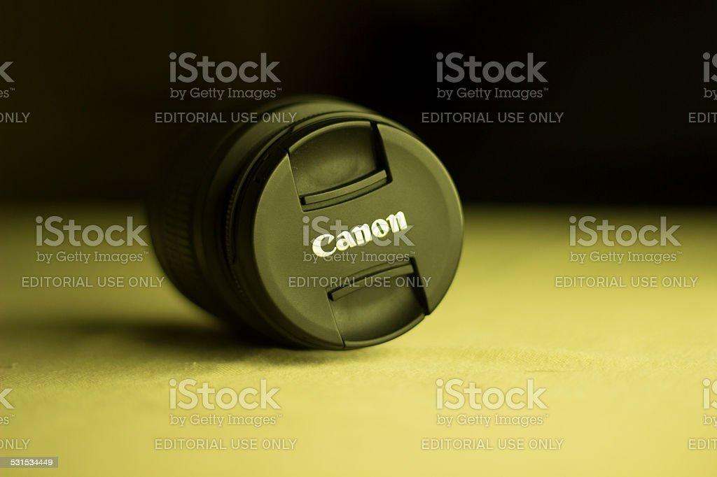 Canon Lens stock photo