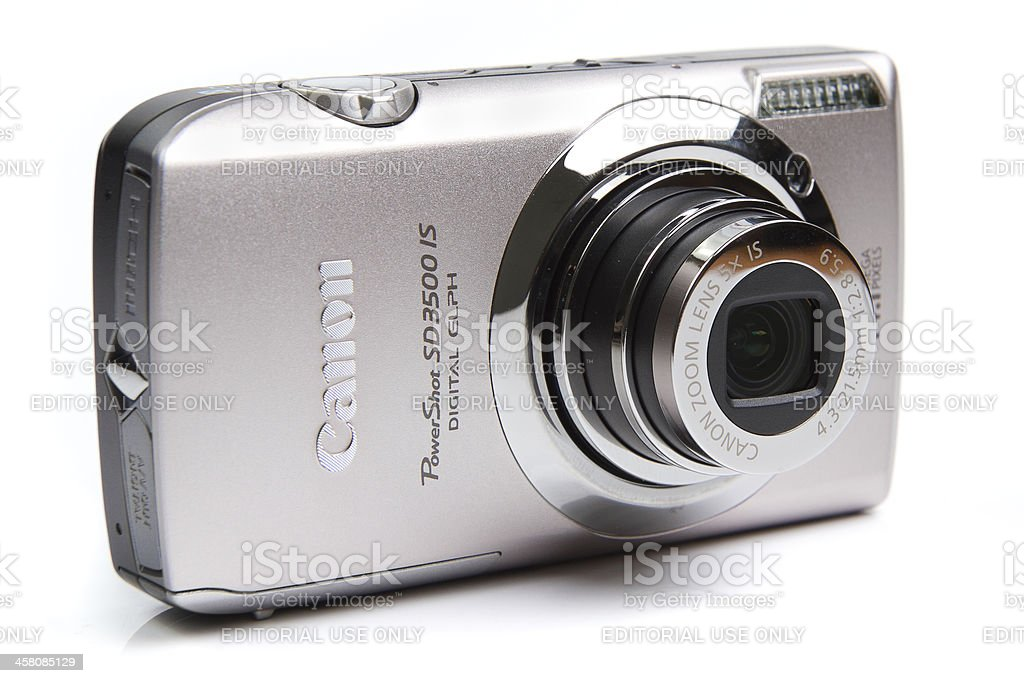 Canon PowerShot SD3500 IS royalty-free stock photo