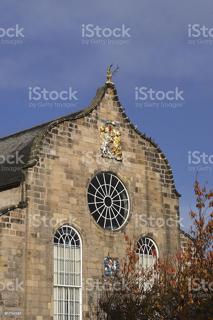 Canongate Church stock photo