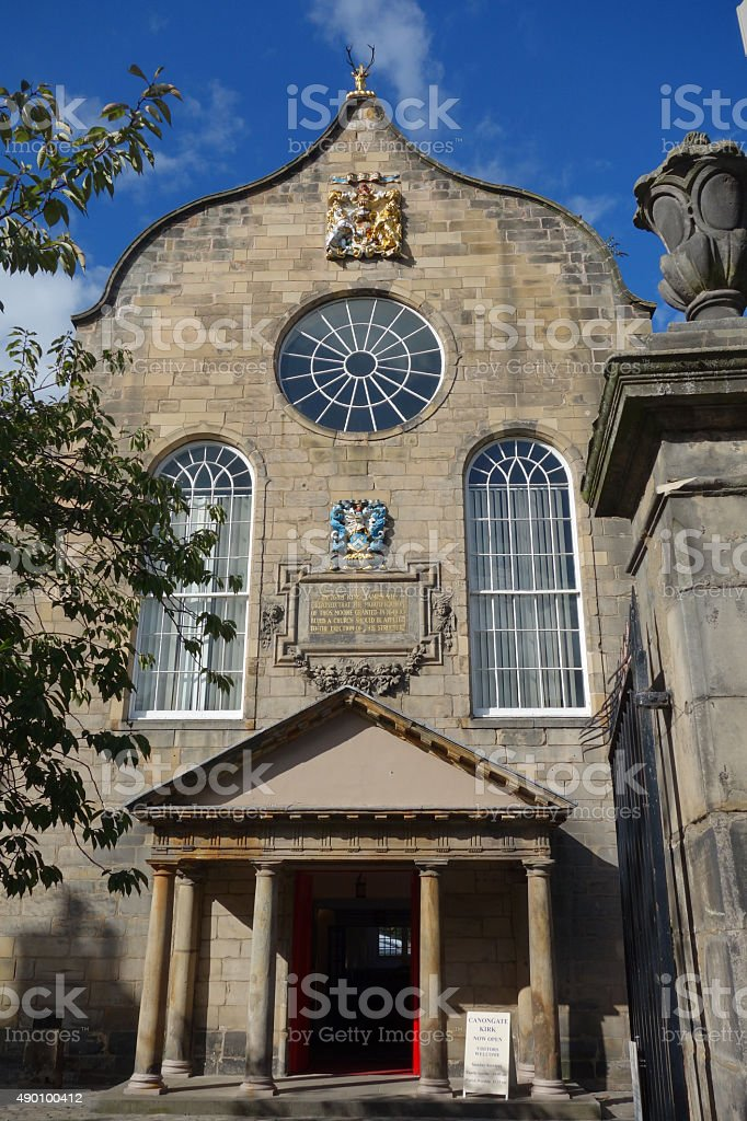 Canongate Kirk/ stock photo