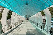 Canopy walkway on Samed island east of thailand