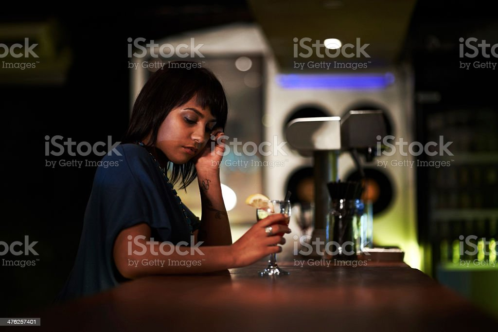 Can't believe I got stood up ... again royalty-free stock photo